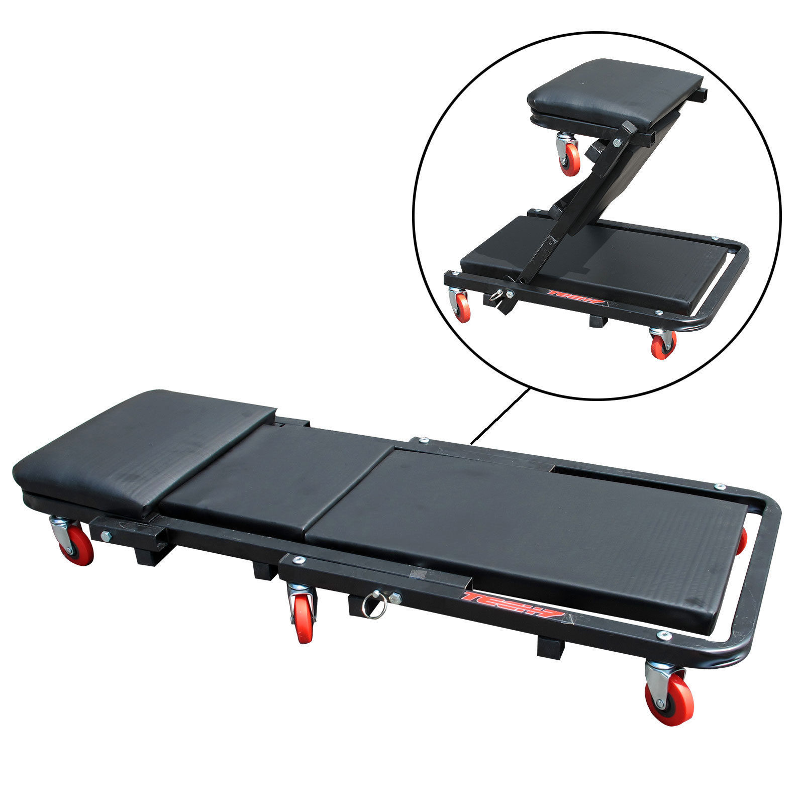 Folding Inspection Trolley / Garage Creeper Seat