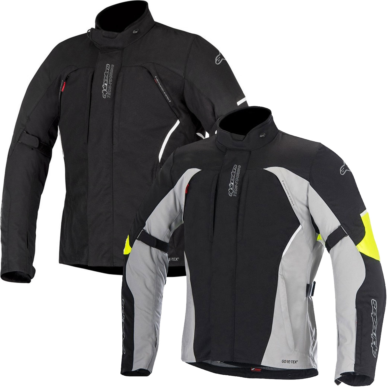 Alpinestars Motorcycle Jacket >> Alpinestars Ares Gore Tex Jacket M P Direct