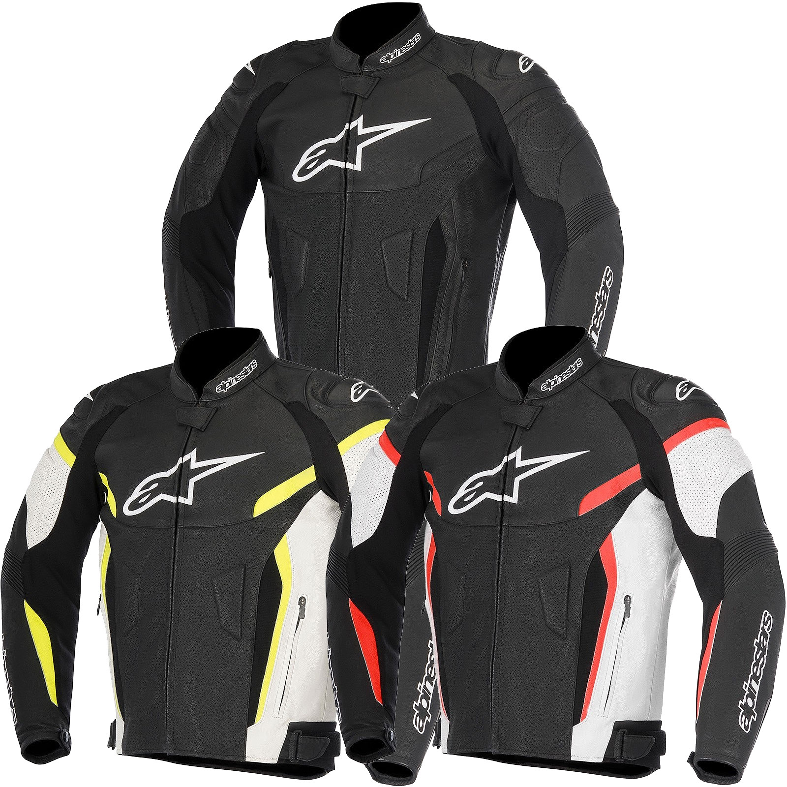 Alpinestars Leather Jacket >> Gp Plus V2 Airflow Lthr Jkt Black 44