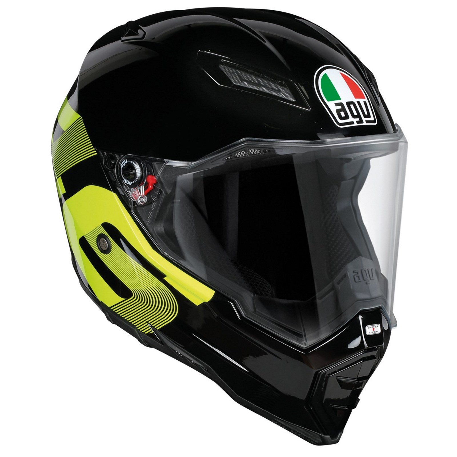 AGV AX-8 EVO Naked Carbon Helmet - RevZilla