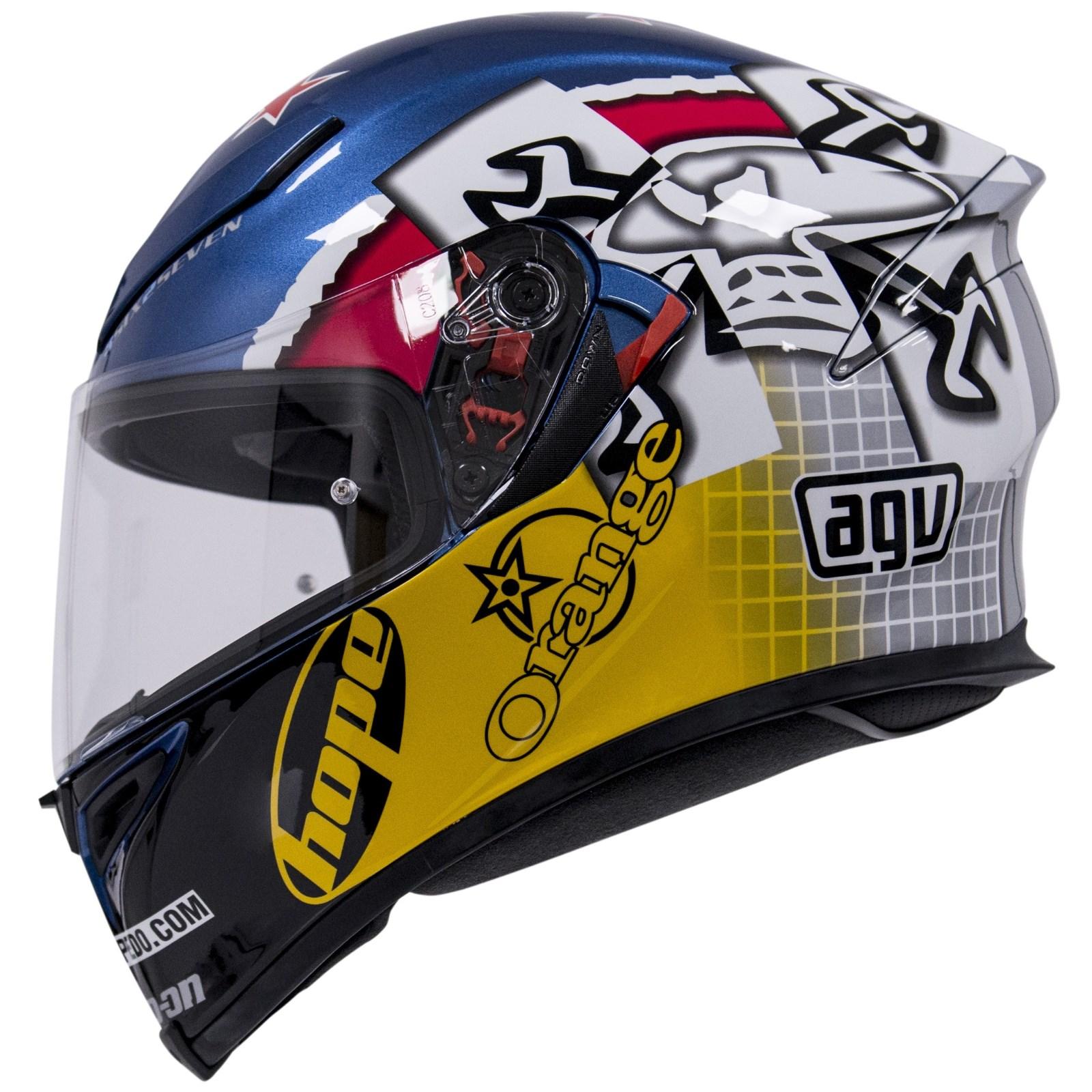 AGV K5-S Guy Martin 3SOME Full Face Helmet   M&P Direct