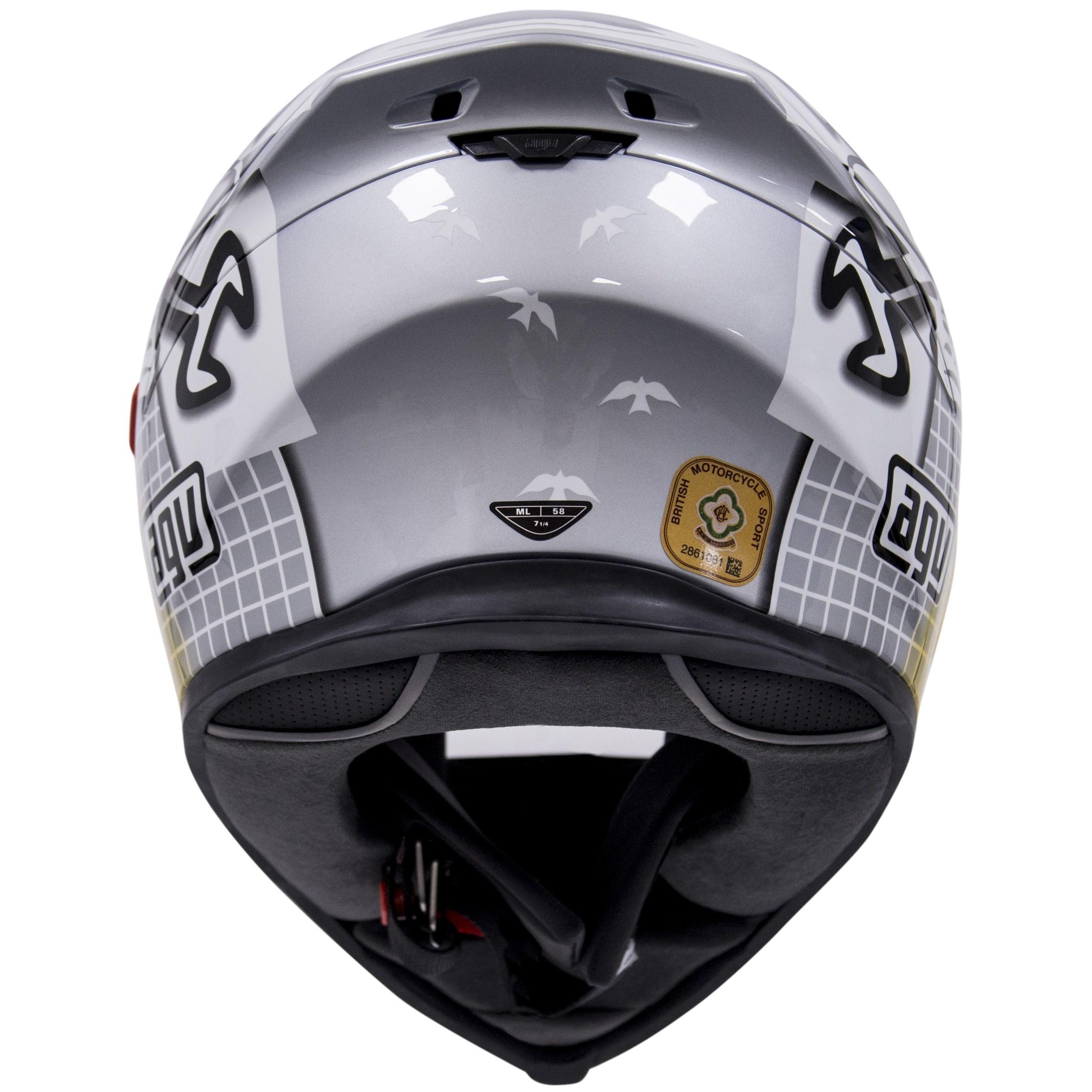 New - AGV New 2015 K-5 Full Face Motorcycle Helmet - Guy