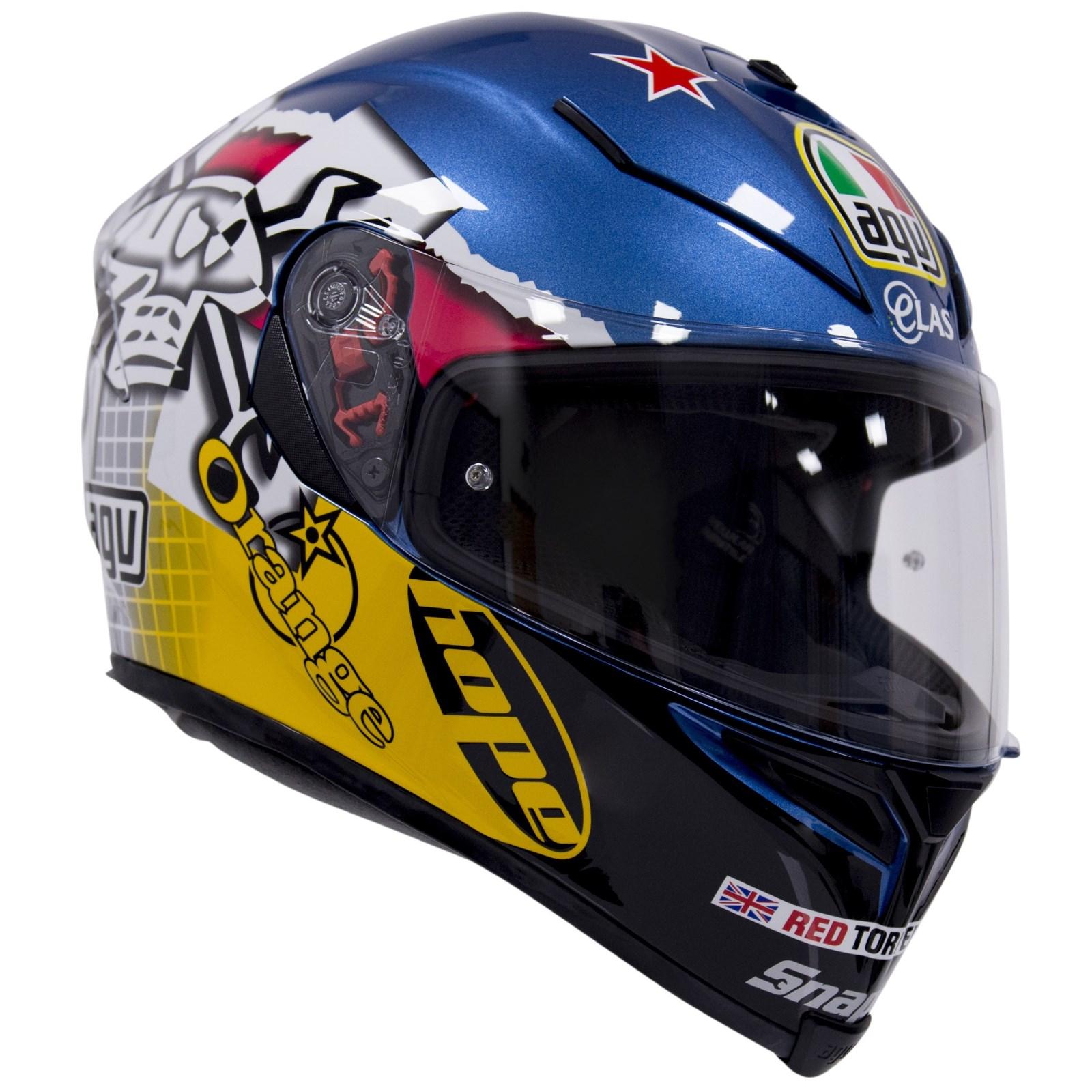 AGV K5 Guy Martin 3Some helmet