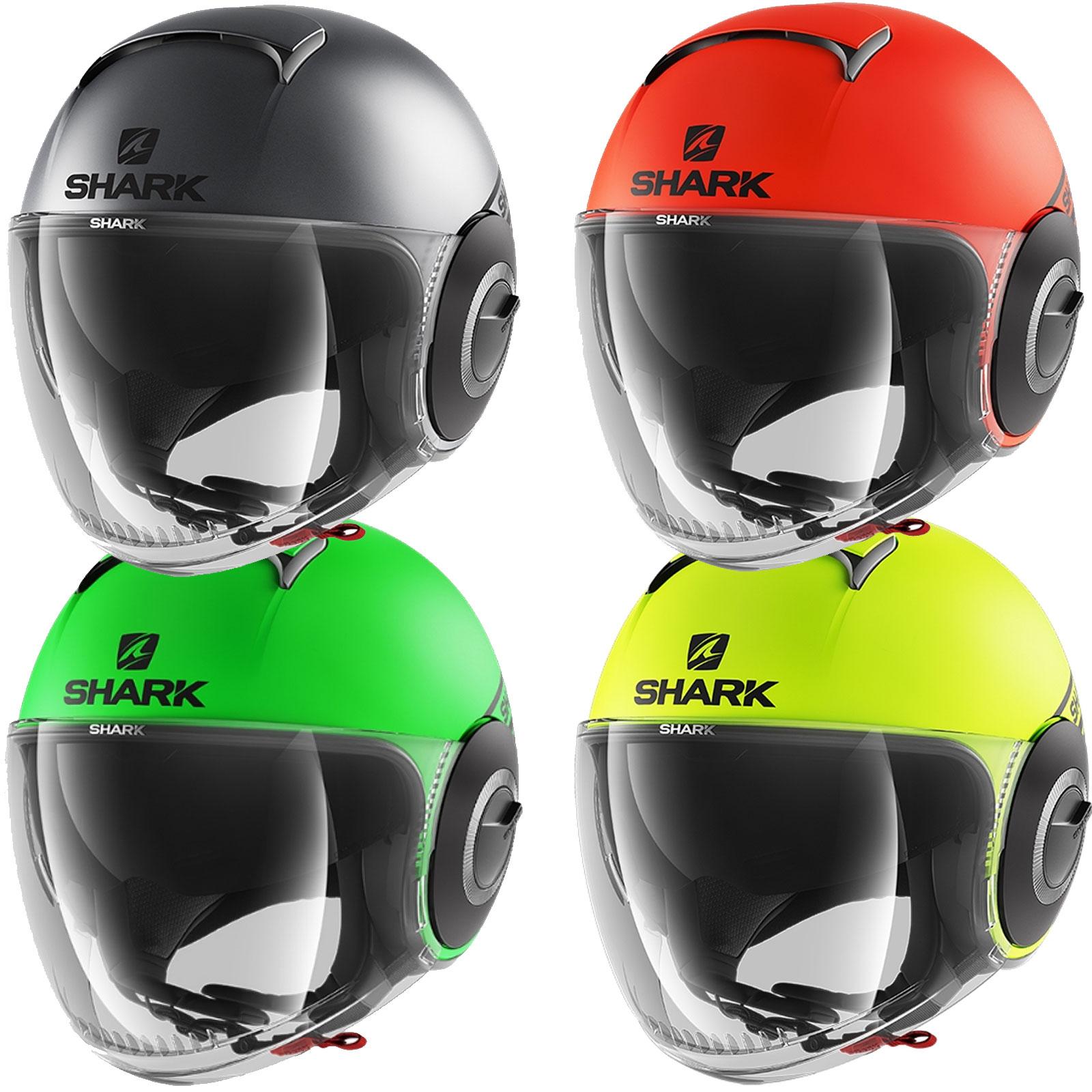 e3124c35 Shark Nano Neon Open Face Helmet | M&P Direct