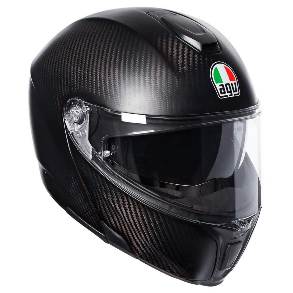 dfd88ff7 AGV Sports Mono Carbon Flip Front Helmet   M&P Direct