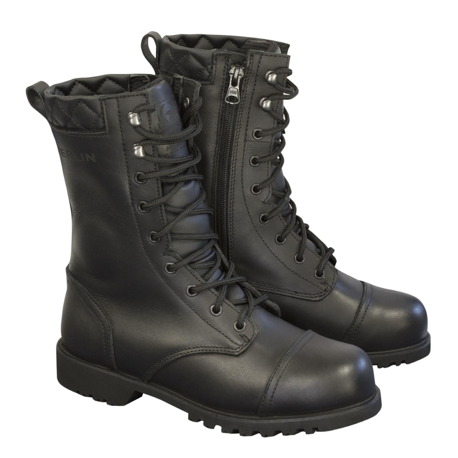 7a347cf85 Merlin G24 Ladies Combat Boots Black | M&P Direct