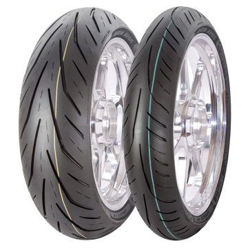 Avon Storm 3D X-M Tyre Pair 120/70ZR17 58W | 180/55ZR17 73W image 1