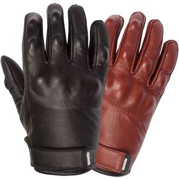 Oxblood Spada Wyatt Touring Leather Motorcycle Gloves