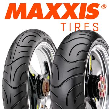 Maxxis Supermaxx Touring Tyre Pair 120/70 ZR17 | 190/50 ZR17 image 1