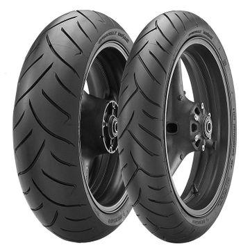 120/70   180/55 ZR17 Dunlop Sportmax Roadsmart Tyre Pair image 1