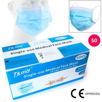 Disposable Medical Face Mask 50 Pieces image 4