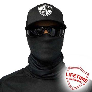 Solid Black Face Sheild image 1