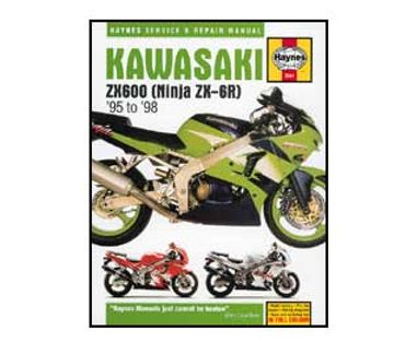 3541 Kawa Zx6r 95 02 Haynes Manual Mp Direct