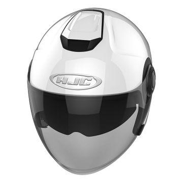 XL Motorcycle helmets HJC i40 PEARL WHITE White