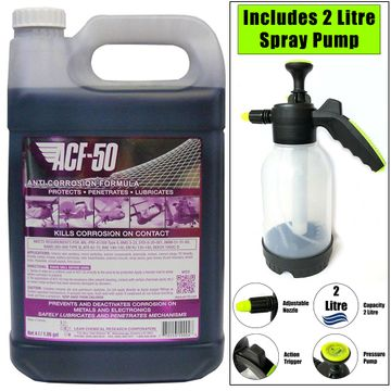ACF50 4 Litre Refil with 2 Litre Hand Pump Pressure Sprayer image 1