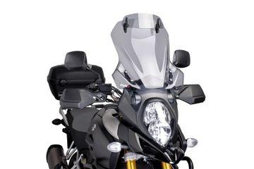 DL1000 V-Strom 14-16 Puig Light Tint Touring Screen + Visor image 1