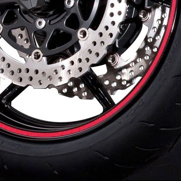 On2Wheels Wheel Stripes Reflective Red image 1