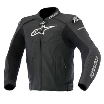 Alpinestars Leather Jacket >> Alpinestars Celer Leather Jacket Black Uk40