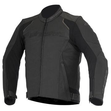 Alpinestars Leather Jacket >> Alpinestars Devon Leather Jacket Black M P Direct