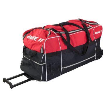 130 Litre Jumbo Kit Bag Red / Black image 1