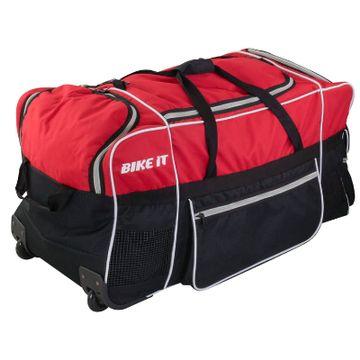 130 Litre Jumbo Kit Bag Red / Black image 2