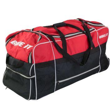 130 Litre Jumbo Kit Bag Red / Black image 3