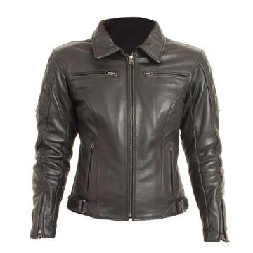 RST 1053 Cruz Ladies Black Leather Jacket image 1