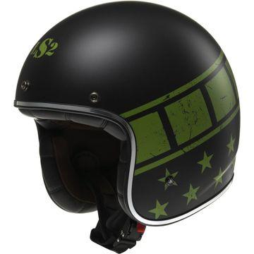 LS2 OF583 Bobber Kurt Open Face Helmet image 1