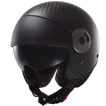 LS2 OF597 Cabrio Carbon Open Face Helmet image 1